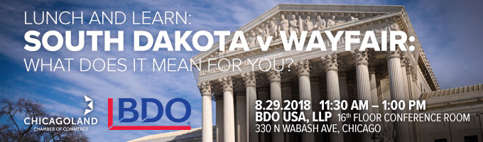 Lunch & Learn Series: South Dakota v. Wayfair: What does it mean for you?